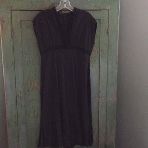 Narciso Rodriguez dress - black silk - size 8